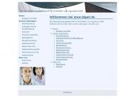 Bild Webseite Dienstleistungsgesellschaft für Architekten und Ingenieure Düsseldorf