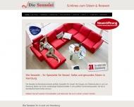Bild Webseite Die Sesselei Hamburg