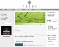 Bild Webseite DILEX Aachen