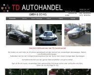 Bild Webseite Djawaheri Autohandels Hamburg