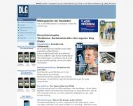 Bild Webseite DLG Frankfurt