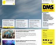 Bild Webseite DMS Deutsche Möbelspedition Berlin