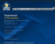 Website Dorn Biervertriebsges.