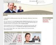 Bild Webseite Domke Advice Service Konstanz