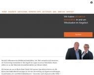 Bild Webseite Immobilien Hildebrand Wiesbaden