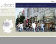 Ihr Partner f?r 1A-City-Lagen Domino Immobilien Dienstleistungen GmbH
