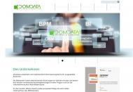 Bild Webseite DomData München