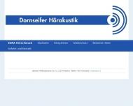 Bild Webseite Dornseifer Hörakustik Berlin