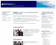 Bild domantec GmbH