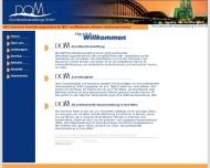 Bild Webseite DOM Grundbesitzverwaltungs Köln