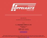 Bild Webseite Doppelgatz Verwaltung Gesellschaft Köln