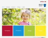 Bild Webseite Dr. Beckmann Pharma Hamburg