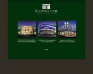 Bild Webseite Dr. Aldinger & Fischer Grundbesitz und Vermarktung Berlin