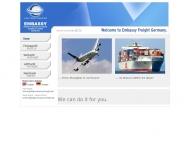 Bild Webseite Embassy Freight Services Europe (Germany) Hamburg
