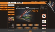Bild Webseite Elektro Siemer Bremen