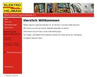Bild Elektro Hejman Ingenieurbetrieb e.K.