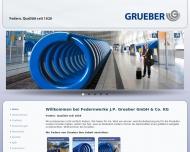 Bild Federnwerke J.P. Grueber GmbH & Co. KG