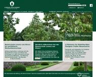 Bild Webseite Gartencenter Garten von Ehren Hamburg