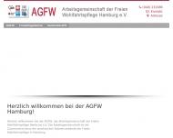 Bild Webseite Freundeskreis Pflegeheim Oberaltenallee Hamburg