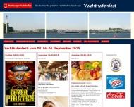 Bild Webseite Hamburger Yachthafen-Gemeinschaft Hamburg