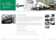 Bild Webseite GHT Dortmund