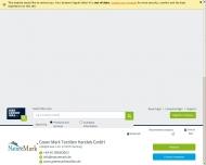 Bild Webseite GREEN MARK Textilien Handels Hamburg