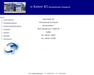 Bild Webseite Heinz Kaiser Bergkirchen