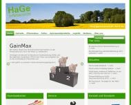 Bild Webseite Hauptgenossenschaft Nord Kiel