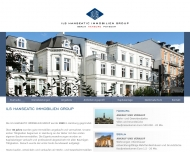 Bild Webseite ILS Hanseatic Immobilien Group Hamburg