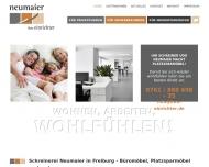 Bild Webseite Ihre Einrichter Neumaier Freiburg im Breisgau