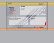 Website Klotzin - Bedachungen und Bausanierungen