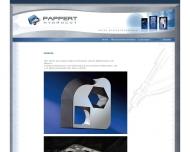 Website Pappert Verwaltung