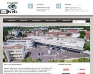 Bild Webseite DJ Handel und Vertrieb Stuttgart