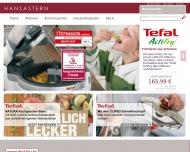 Bild Webseite Hansastern Hamburg