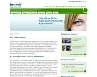 Website Augen Laser Center Dr. Brodehl