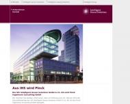 Bild Webseite IHS INTELLIGENT HOUSE SOLUTIONS Hamburg