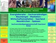 Bild Webseite Ingenieurbüro Matthias Marx Spiesen-Elversberg