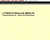 Bild Literaturhaus Berlin e.V.