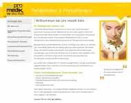 Bild Webseite pro medik köln Köln