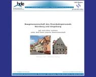BdE Baugenossenschaft des Eisenbahnpersonals N?rnberg und Umgebung