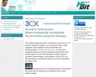 Bild Webseite HiBit Computer Hamburg