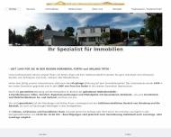 Bild Webseite eva BADER Immobilien e.Kfr. Nürnberg