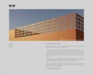 Bild Webseite O+M Architekten Dresden