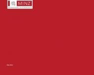 Bild Webseite Dr. Gabriele Minz Unternehmensberatung Projektentwicklung Berlin