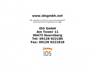 Bild Webseite IDS Nürnberg