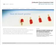 Bild Webseite Mitsubishi Chemical Europe Düsseldorf