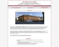Bild Webseite Dr. Wahl & Cie. Freiburg im Breisgau