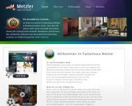 Bild Webseite Farbenhaus Ingegund Metzler Hamburg