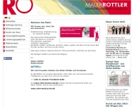 Bild Webseite Malerbetrieb Rottler Karlsruhe