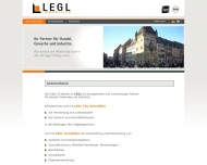 Website Legl Immobilien